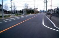 加茂福山線外舗装道補修工事