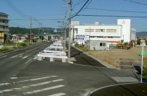国道486号道路改良工事