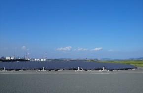 福山太陽光発電所アレイフィールド造成工事