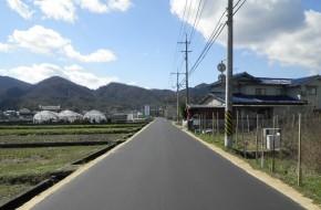 道路舗装工事(向永谷幹線)