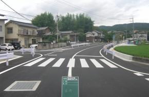 津之郷山守線道路改良工事(3工区)