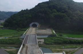 国道313号道路改良工事((仮称)神辺トンネル)