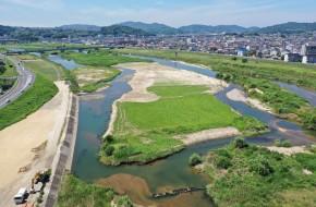 芦田川中流河道整備工事